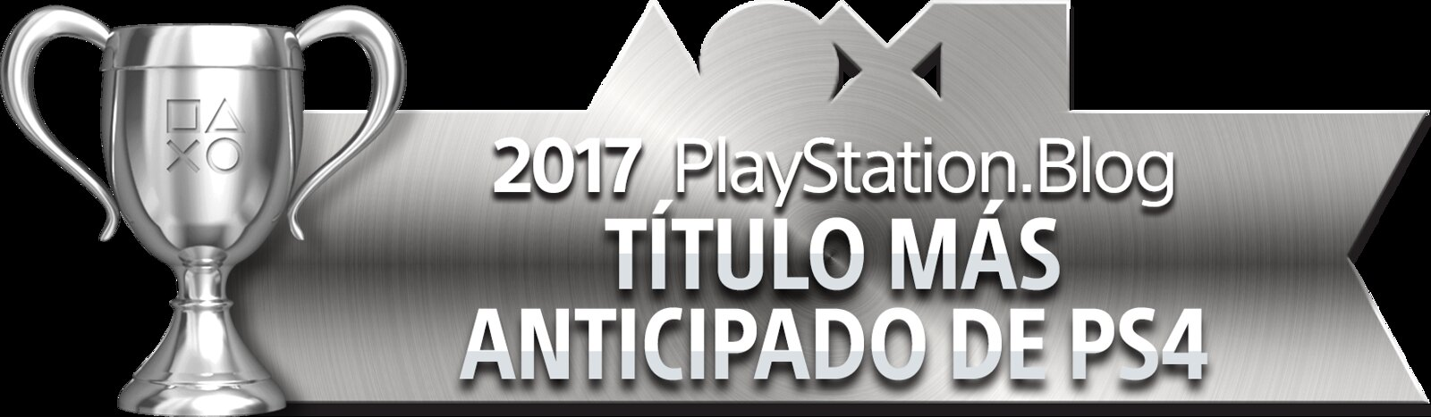 PlayStation Blog Game of the Year 2017 - Most Anticipated PS4 Title (Silver)