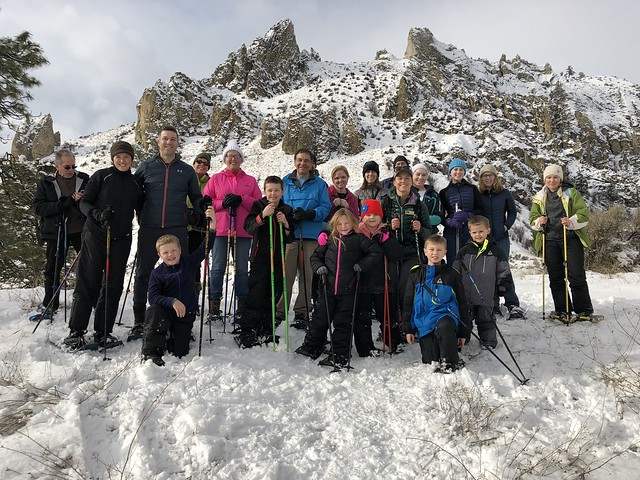 WEB 2018 Family Snowshoe Outing
