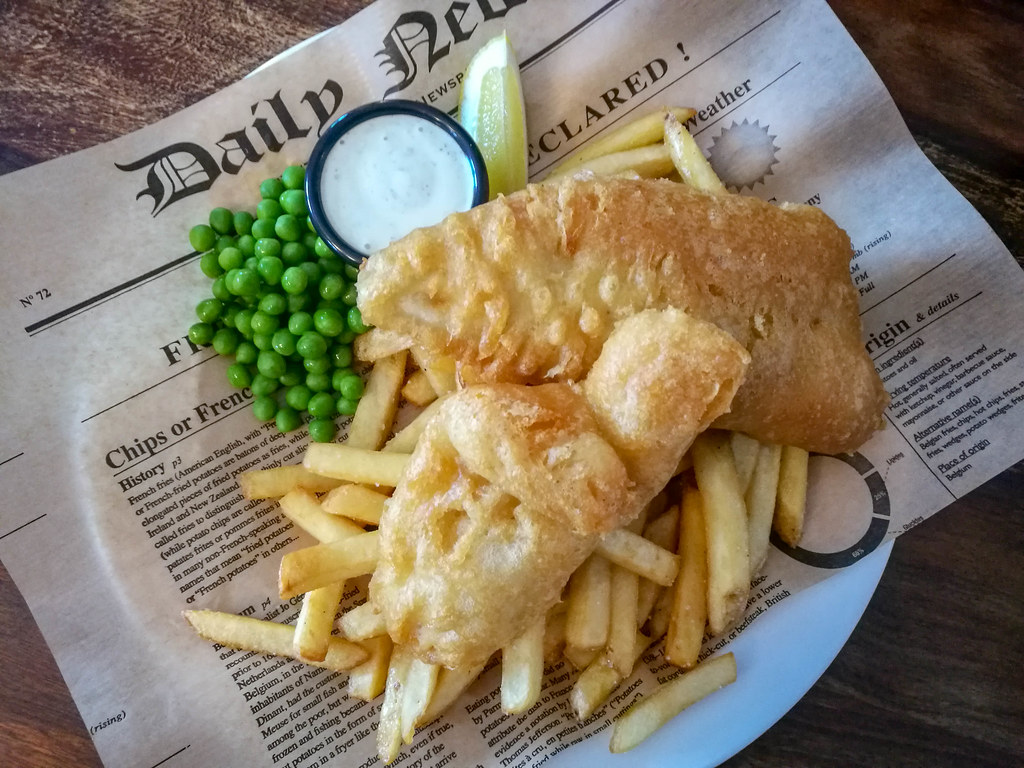 Where to eat in Pori? The best Fish & Chips of the world are served on Reposaari Island