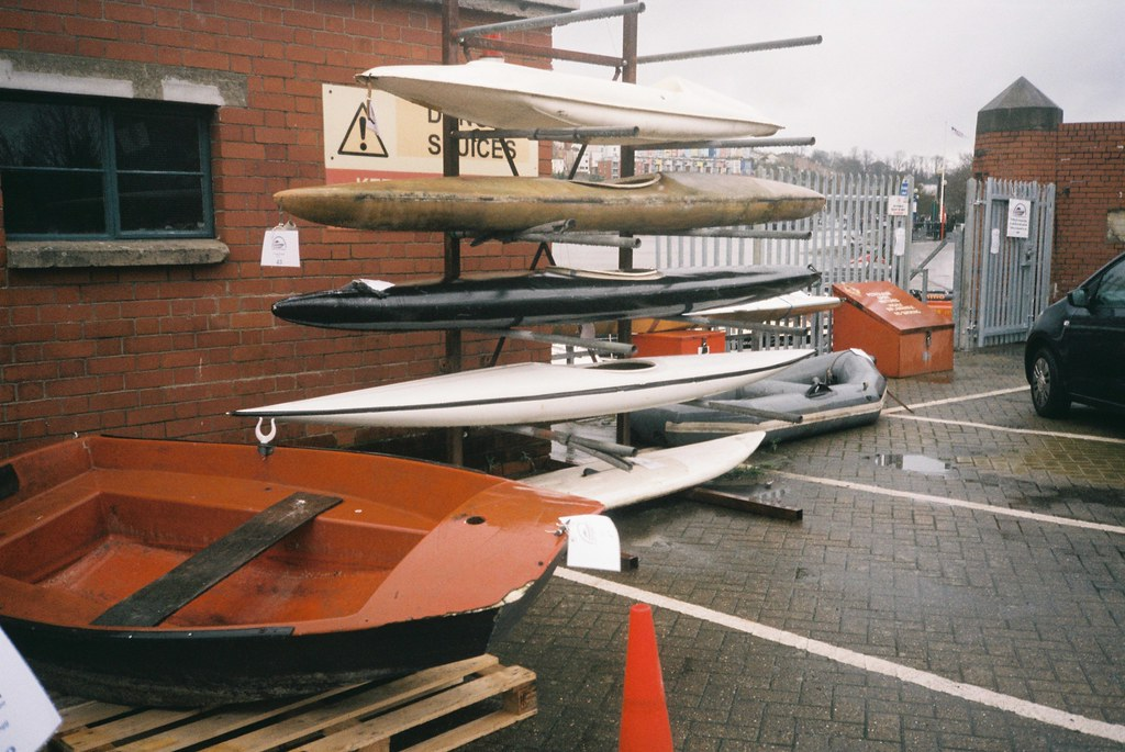 Auction kayaks and boat   Boats for sale in the biannual Flo