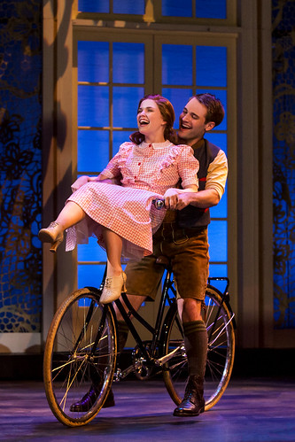 Keslie Ward as Liesl and Chad P. Campbell as Rolf. Photo by Matthew Murphy. From It Doesn't Matter How Many Times You've Seen the Movie - Here's Why You Need to See Sound of Music on Tour
