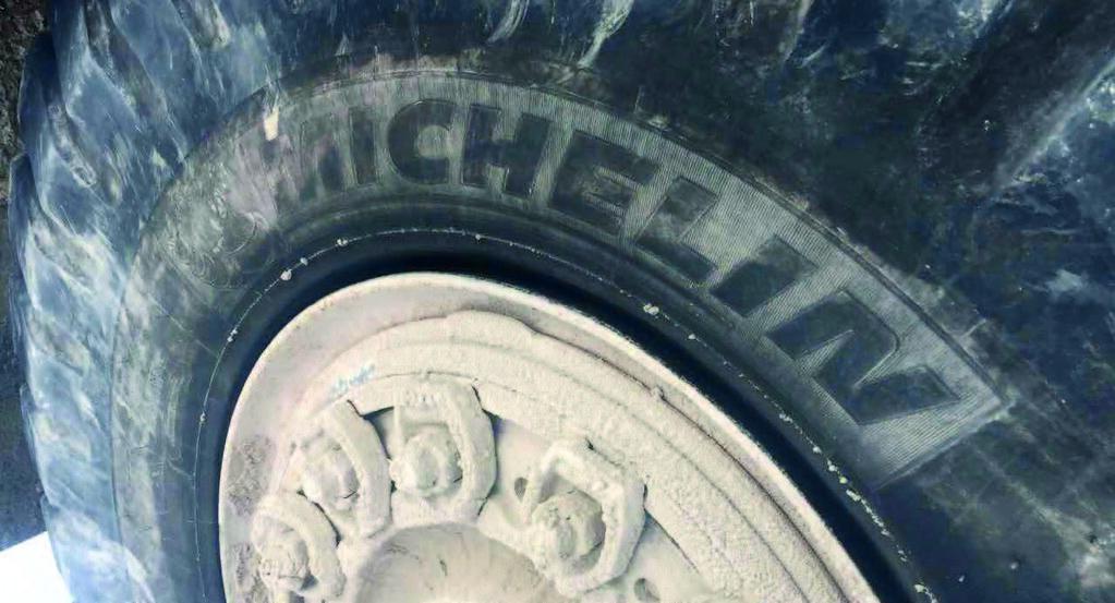 Шина производства компании Michelin