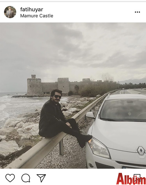 Alanya Uyar Group'un sahibi Fatih Uyar, Anamur Mamure Kalesi'nden bu fotoğrafı paylaştı.