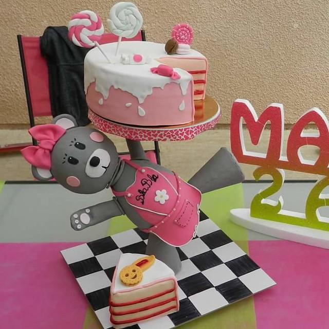Cake by Severine Morand of Gourmandises et BlaBla
