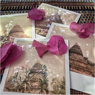 Instant Memories ... Gubyaukgyi temple, Myinkaba, Baga, Burma