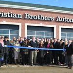 Ribbon Cutting - Christian Brothers Automotive