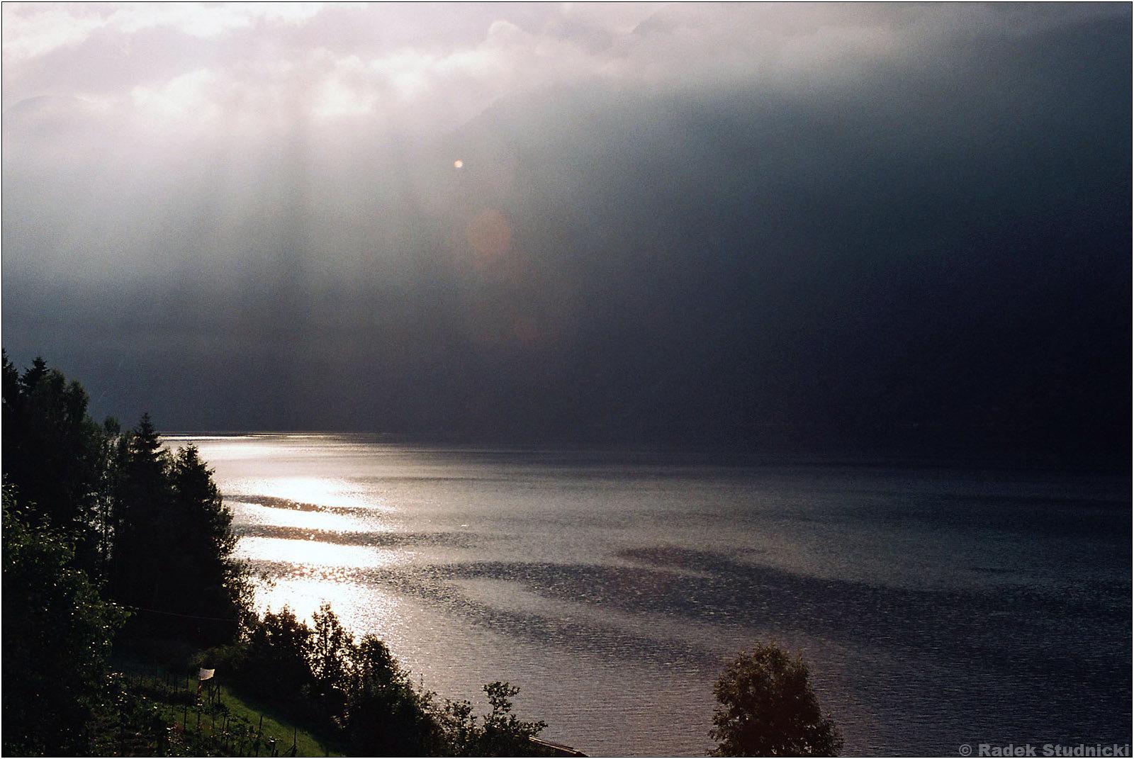 Słońce nad Sognefjord
