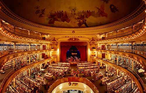 Bookstore El Ateneo in Buenos Aires, Argentina