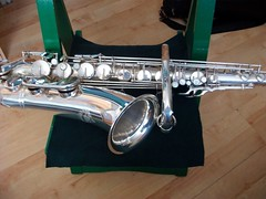 B&S Blue Label tenor sax - 2