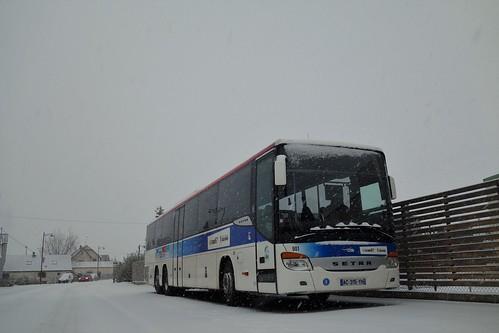 Setra S 419 UL n°901  -  Bas-Rhin, CTBR