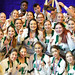 For the seventh year running, Wilmington University's cheerleaders have captured the national championship at the Universal Cheerleading Association's 2018 Small Coed Division II competition, held in Orlando, Florida.