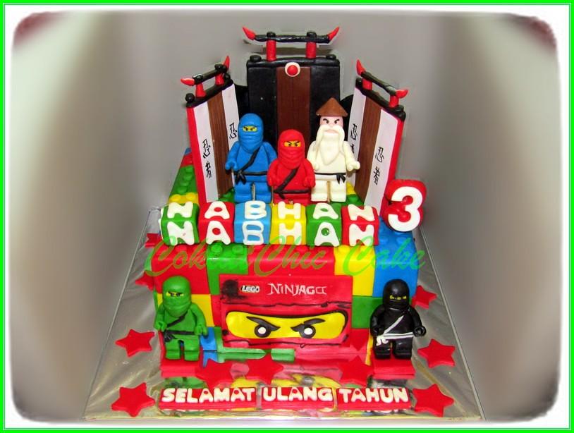 Cake Ninjago NABHAN 15 cm
