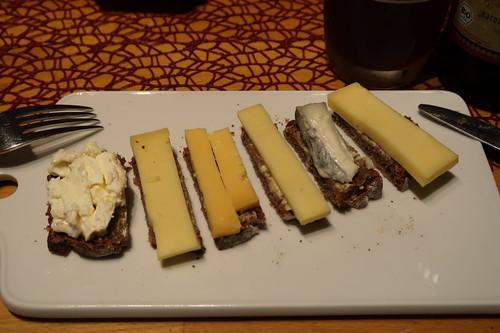 Delice du Bourgogne, Honig-Klee, niederländischer Jubiläumskäse,  schweizerischer Rotwild, Galet du mas de thomas, höhlengereifter Kaltbach Creamy