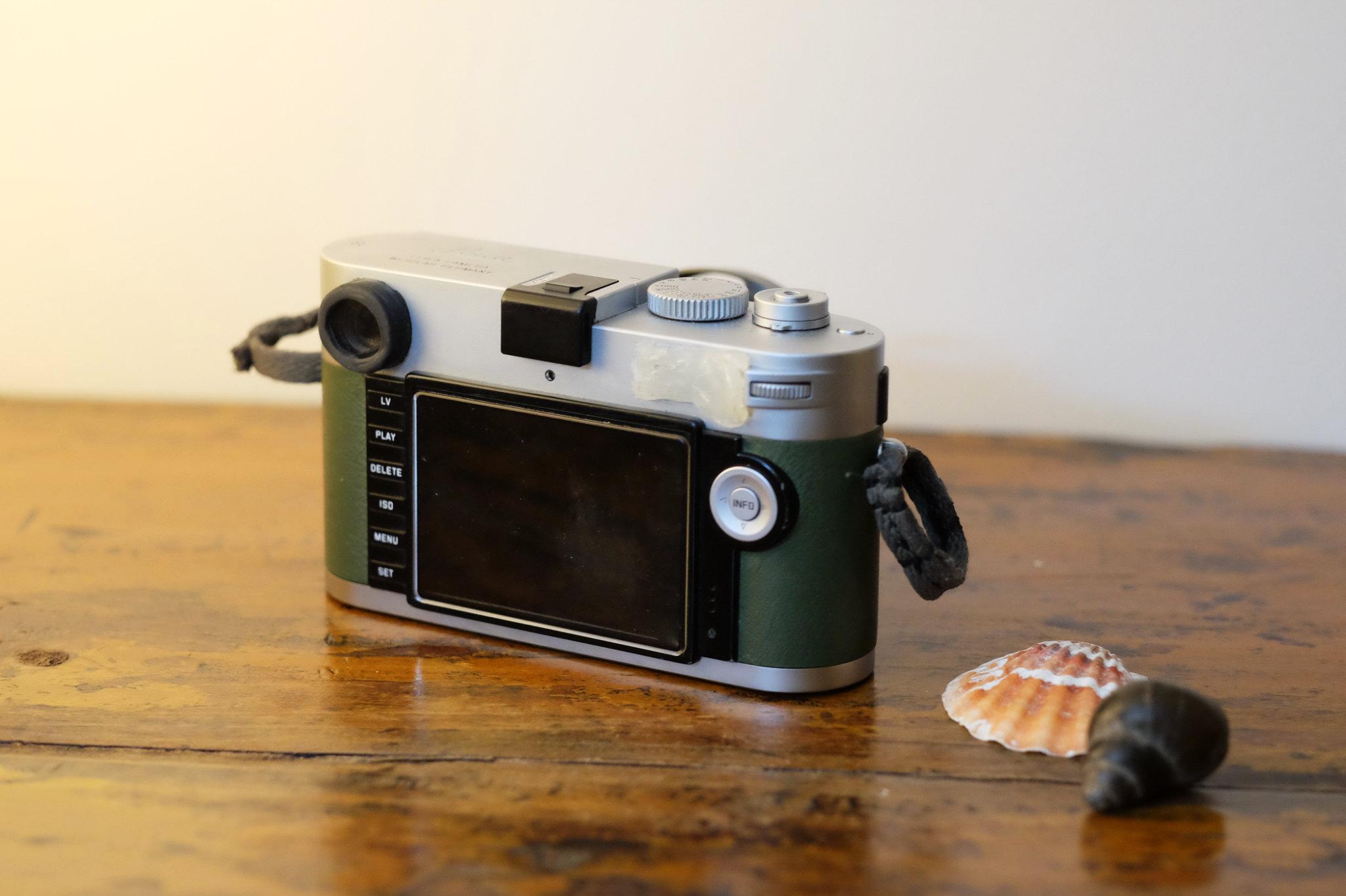 Leica m240_Rückseite