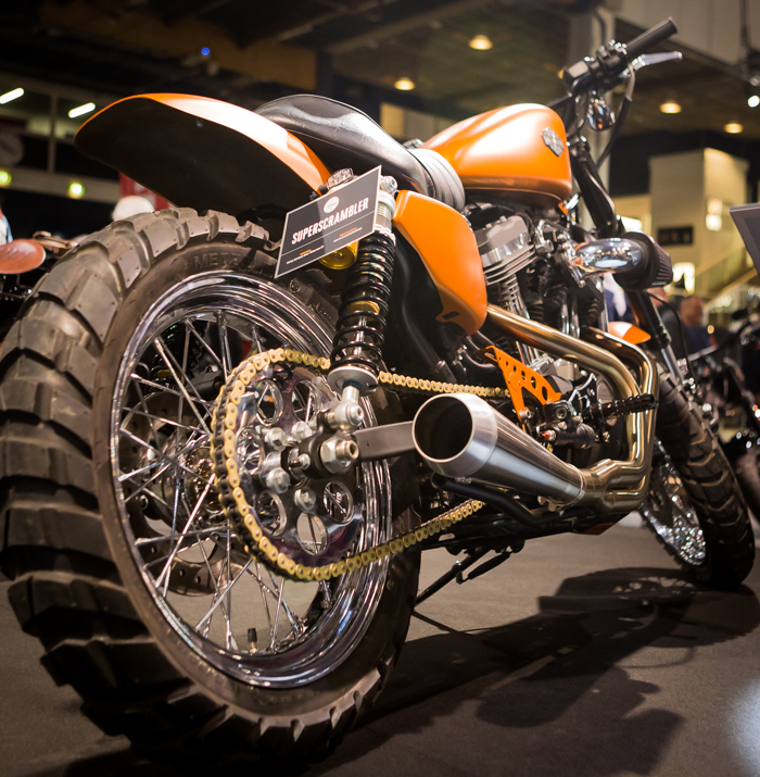 moottoripyörämessut 2018 helsinki mp-messut harley davidson turku battle of  kings 2018 dark custom superscrambler