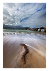Hanalei Beach, Kaua'i, Hawai'i