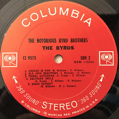 THE BYRDS:THE NOTORIOUS BYRD BROTHERS(LABEL SIDE-B)