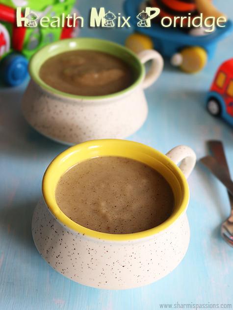 Health mix porridge recipe