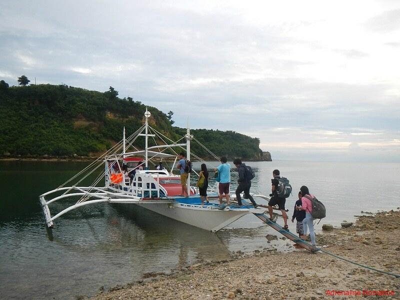 Leaving for Malapascua