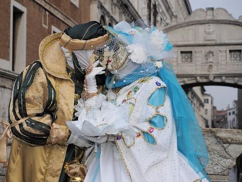 Happy Valentine's Day from Venice carnival