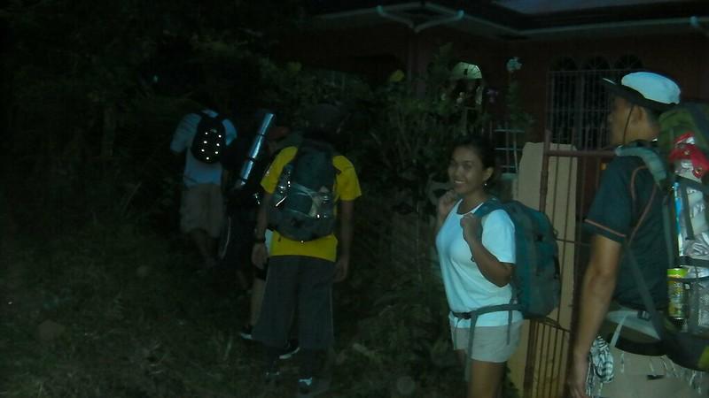 start of trek