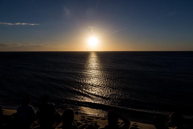 Sunset in Brazil