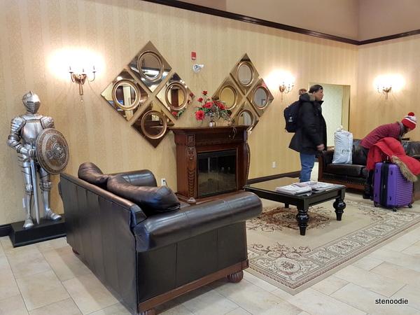 Comfort Inn & Suites Saint-Nicolas, Quebec lobby