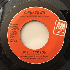 JOE JACKSON:STEPPIN' OUT(LABEL SIDE-B)