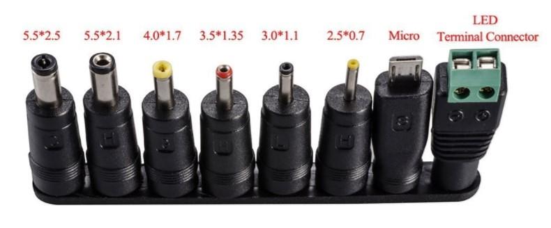 HCMA 【変換8種セット】ACアダプター30W 3V-12V 2000Ma (3)