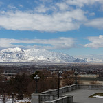 From the steps of the Utah State Capitol