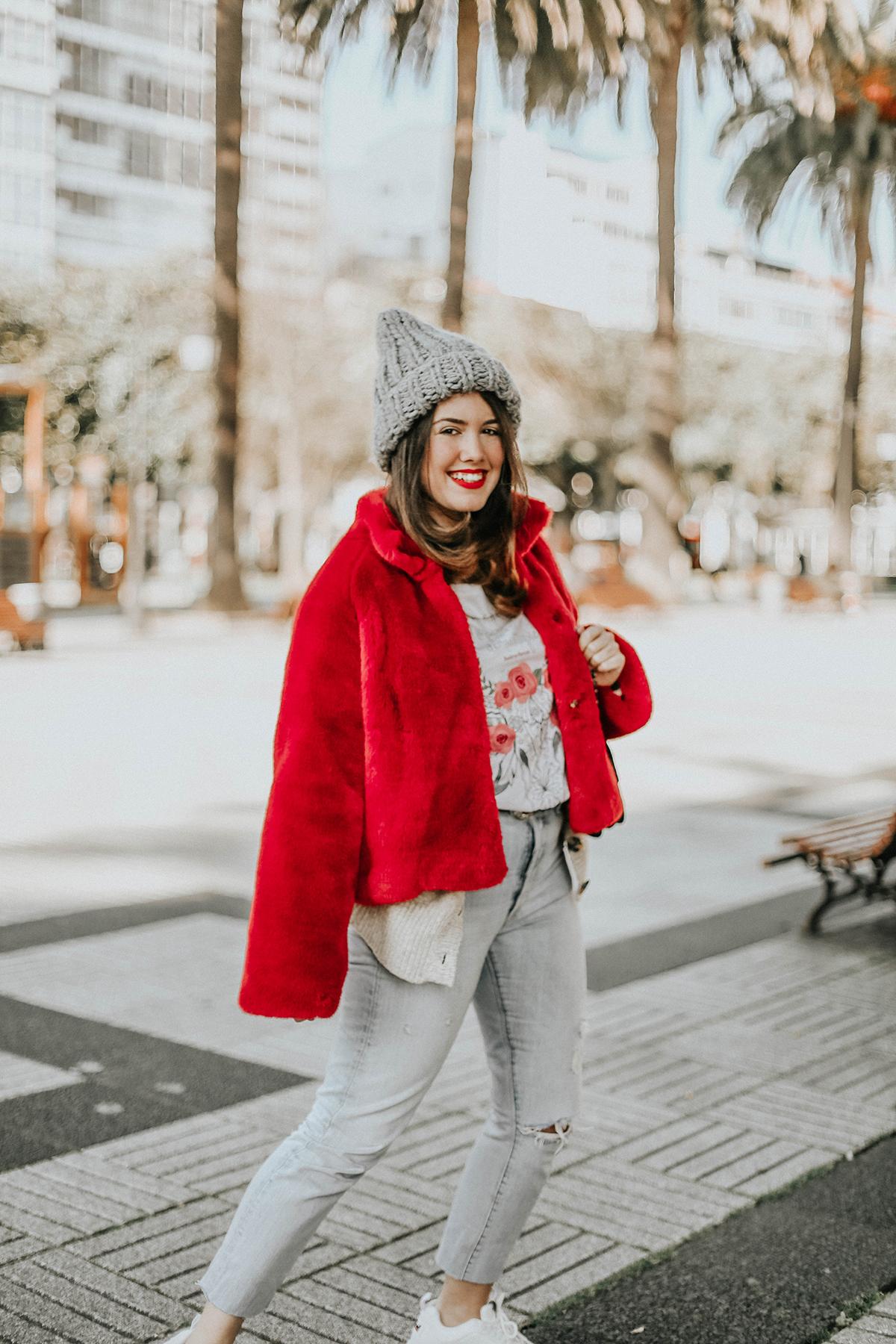 abrigo-pelo-rojo-levis-skinny-501-look-streetstyle-myblueberrynightsblog