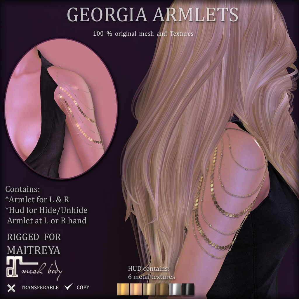 GEORGIA Armlets (SOON at DISTRICT 20)