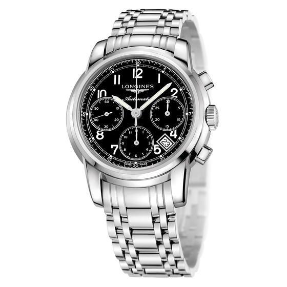 Đồng hồ Longines Saint Imier Chronograph Column Wheel Automatic mới 100%, đủ hộp sổ thẻ