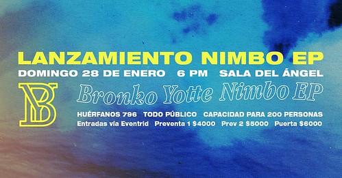 BRONKO LANZAMIENTO NIMBO EP