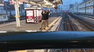 トワイライトエクスプレス瑞風 倉敷駅発車