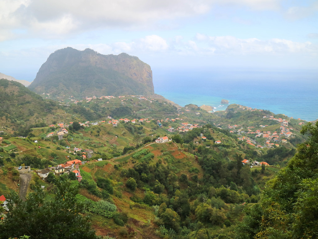 Mirador Portela en Madeira