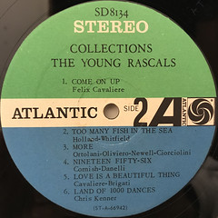 THE YOUNG RASCALS:COLLECTIONS(LABEL SIDE-B)