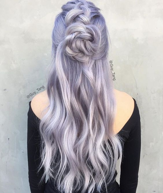 purple-silver-balayage-hair-dye-esalon-ombre-hairstyle-coachella