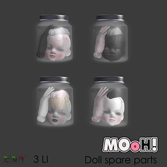MOoH! Doll spare parts