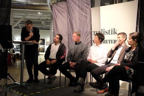 Johan Huldt, Nils Poletti, Niklas Nåbo, Helena Persson, Jörgen Rundgren och Maria Brusman