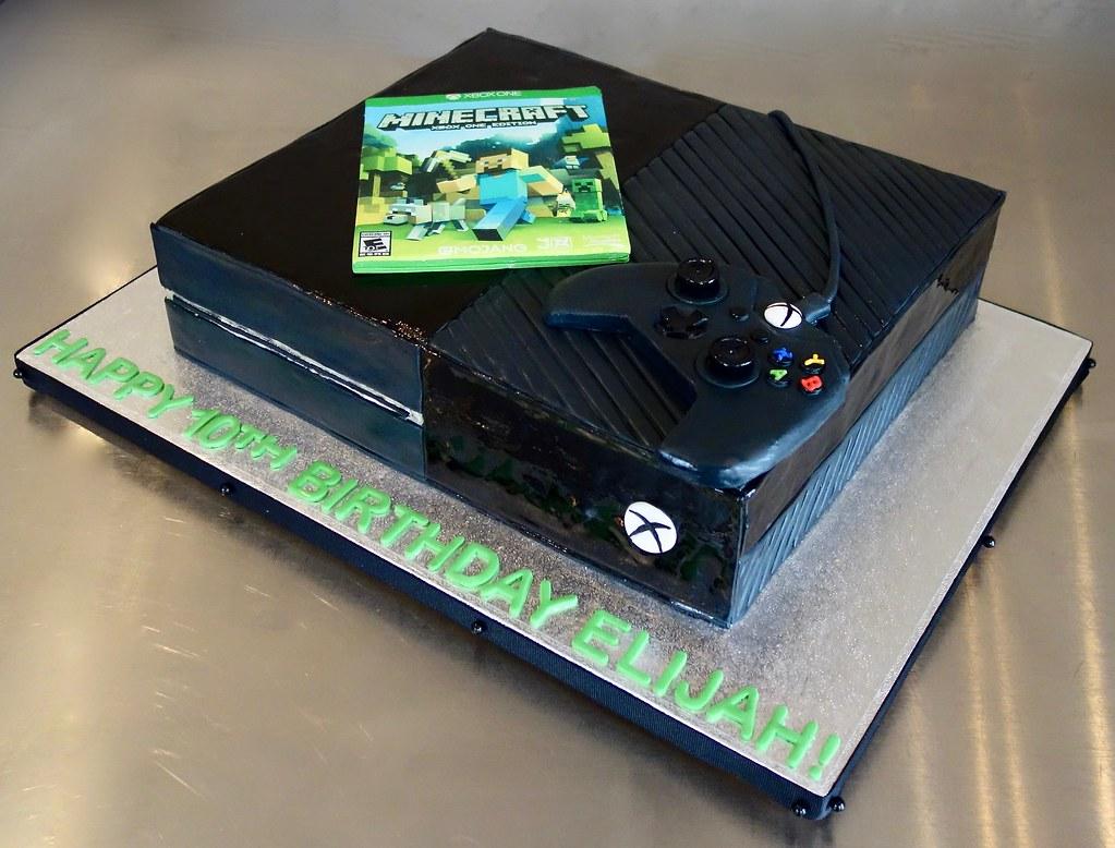 Xbox One Birthday Cake Sasa Flickr
