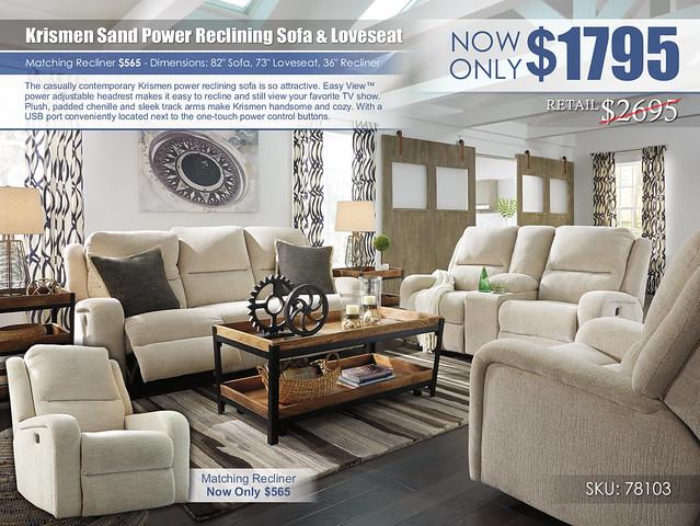 Krismen Sand Power Reclining_78103-15-18-13-T940-PILLOW