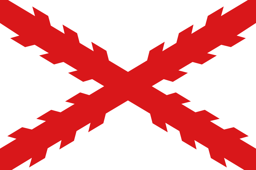 Flag of the Cross of Burgundy (Spain)
