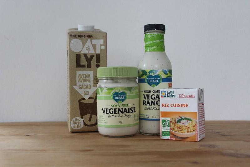 couverture articles laits crème mayo vegan