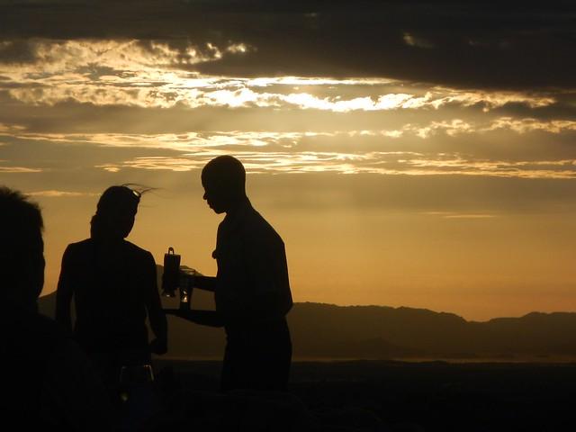 Sundowner in Movani, Nikon COOLPIX AW100