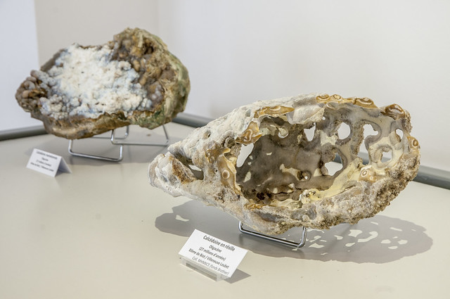 Exposition « Merveilles naturelles régionales, les minéraux du Volcan de Biot/Villeneuve Loubet »