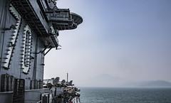 USS Carl Vinson (CVN 70) arrives in Da Nang, March 5. (U.S. Navy/MC3 Dylan M. Kinee)