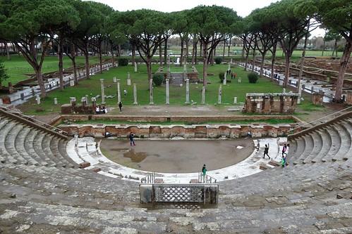 Ostia Antica - Ostia, Roma, Italy