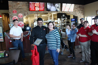 Ribbon Cutting - Marco's Pizza