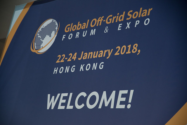 Global Off-Grid Solar Forum & Expo Day 1
